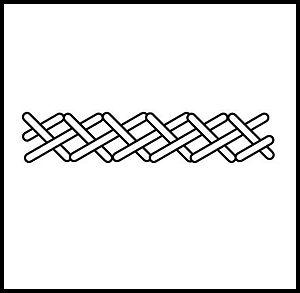 Long-armed cross stitch