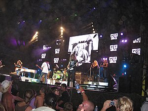 Lynyrd Skynyrd in concert - New Brockton, Alab...