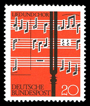 Stamps of Germany (BRD) 1962, MiNr 380