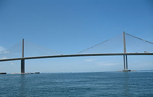 English: Photograph of the Sunshine Skyway Bri...