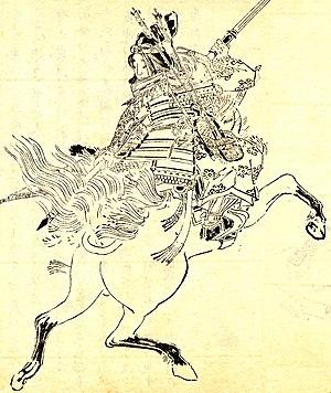 Tomoe Gozen -- artist's impression by Kikuchi ...