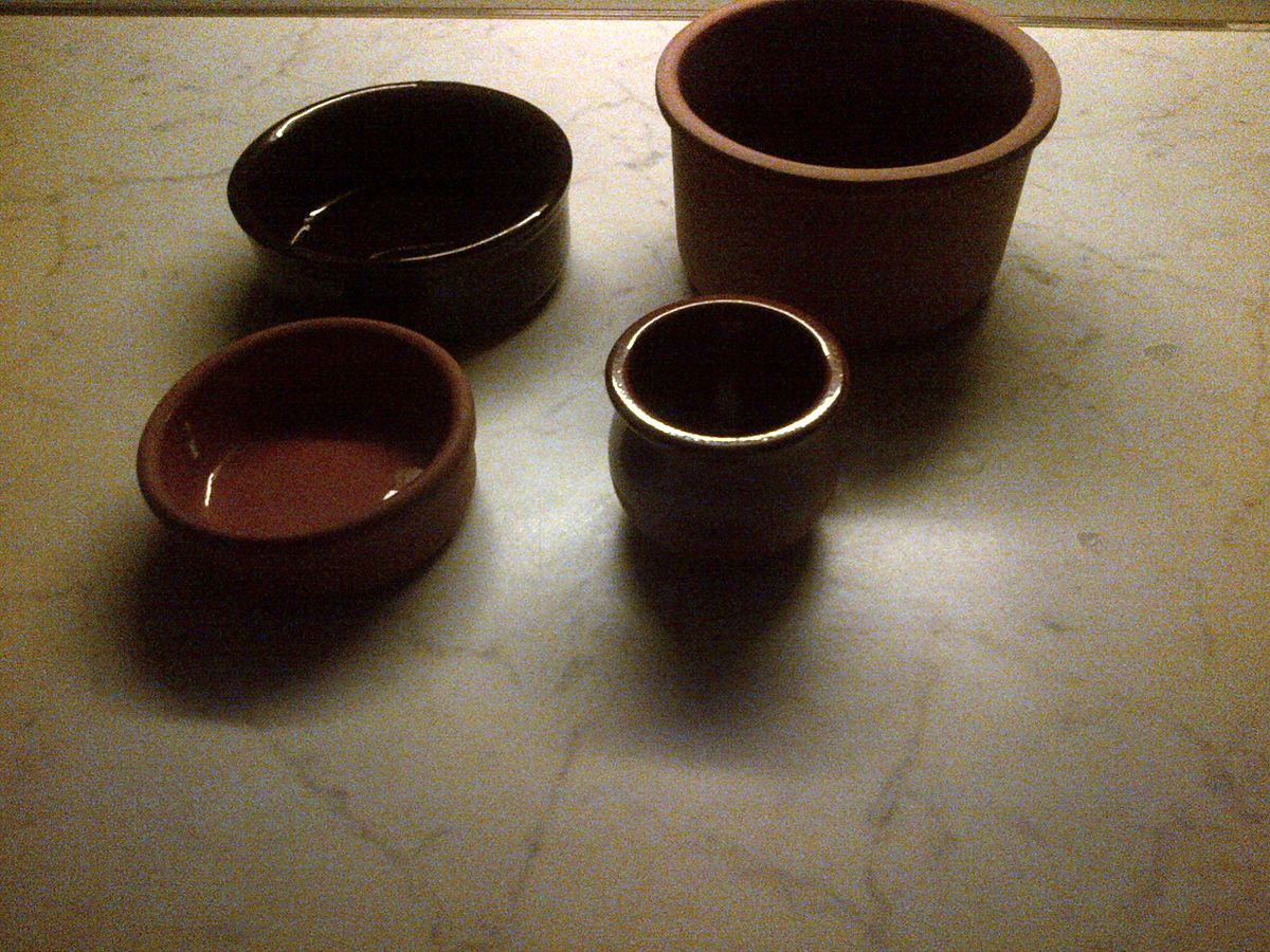 Tall Clay Pots