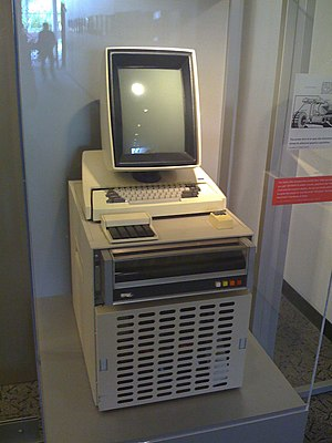 First graphical user interface in 1973.