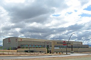 Albuquerque Studios, a movie studio located at...