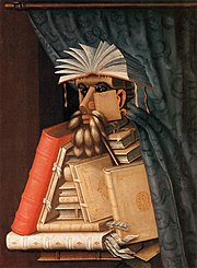 The Librarian, a 1556 painting by Giuseppe Arcimboldo