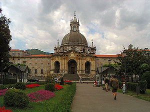 Image of the Basilica of St. Ignatius in Loyol...
