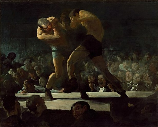 George Bellows - Club Night (1907)