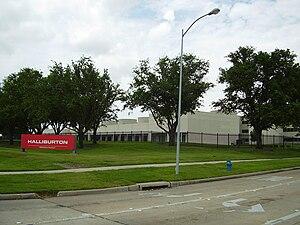 English: Halliburton offices on Bellaire Boule...