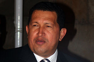 English: Hugo Chavez Español: Hugo Chavez