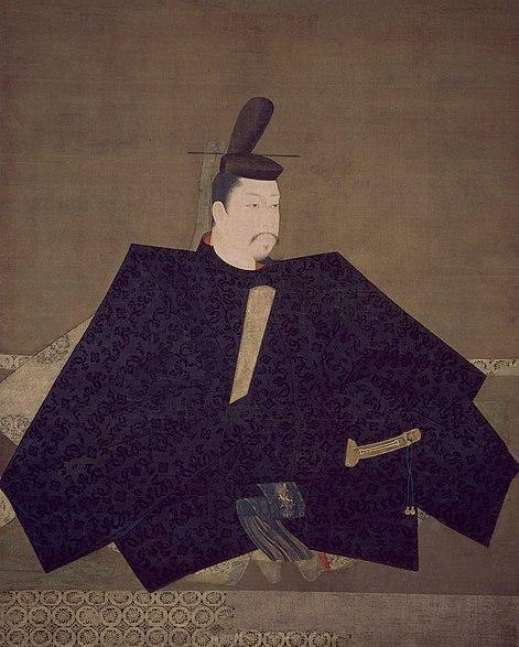 絹本着色伝源頼朝像(神護寺蔵)