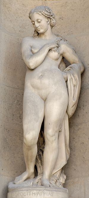 Rustic Aphrodite (1859), by Georges Clère (181...