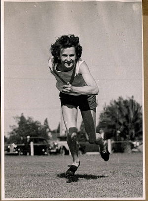 Picture of athlete, Shirley Ogle