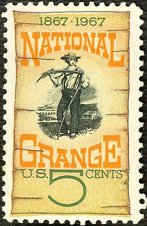 1967 U.S. postage stamp honoring the National ...