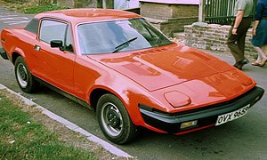 Triumph TR7 Hardtop shortly after model launch
