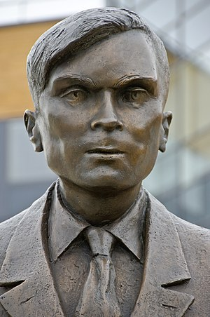 statue of Alan Turing at University of Surrey