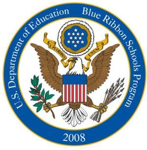 English: 2008 No Child Left Behind Blue Ribbon...