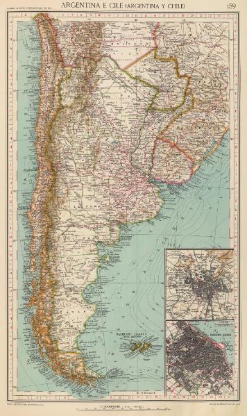 ArgentinayChile1929.TouringclubitalianoMilano