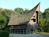 A traditional Batak house