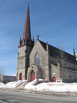 Sacred Heart Cathedral Bathurst New Brunswick Wikipedia