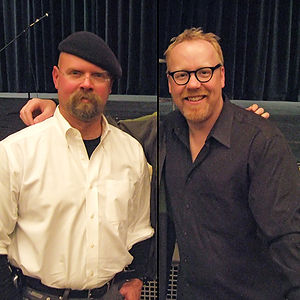 Jamie Hyneman & Adam Savage, from the TV progr...