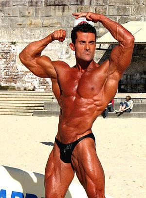 Steve Jones Natural Bodybuilder taken at Cooge...