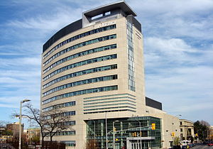 The Desmarais building at the University of Ot...