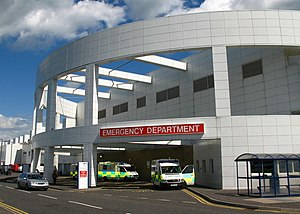 Emergency Department of Edinburgh Royal Infirm...