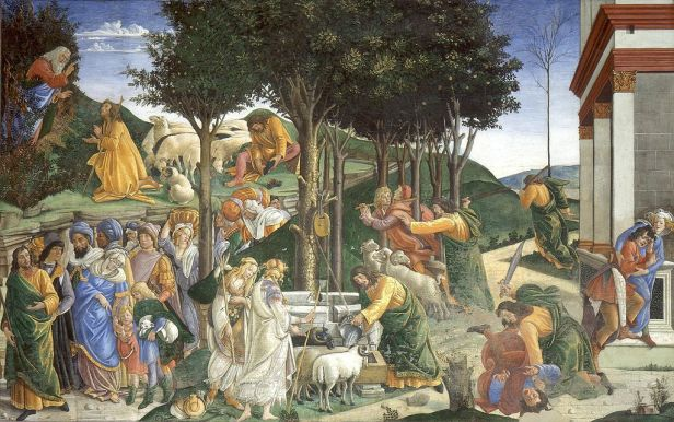 """""""Adoration of the Magi"""" by Botticelli"""