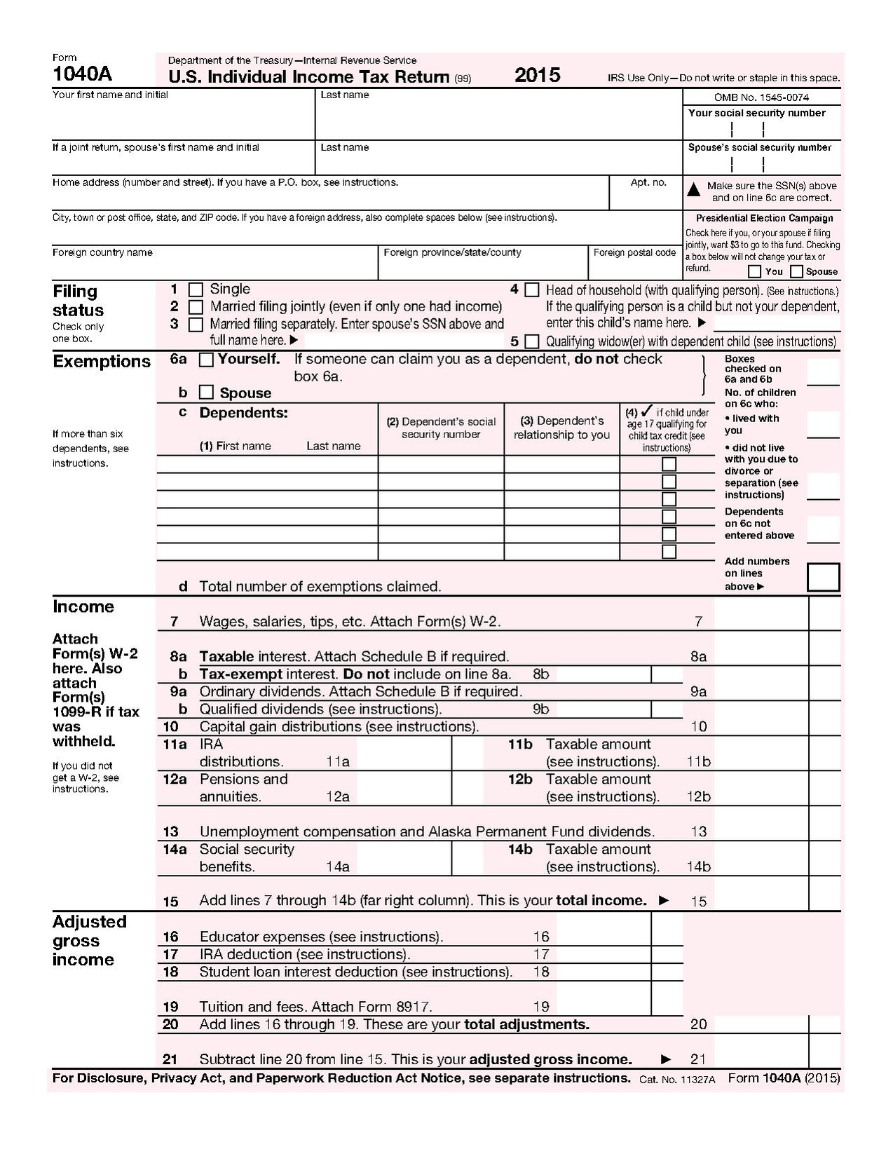 Social Security Benefits Worksheet
