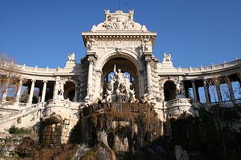 Français : Palais Longchamp, Marseille (France).