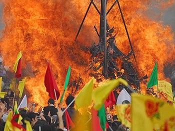 English: Newroz in Kurdistan