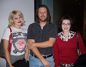 David Foster Wallace at the Hammer Museum in L...
