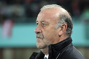 Vicente del Bosque, Coach of the Spanish natio...