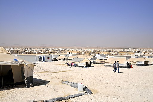Zaatari refugee camp, Jordan (9664136230)