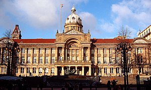 Birmingham was the first English town without ...