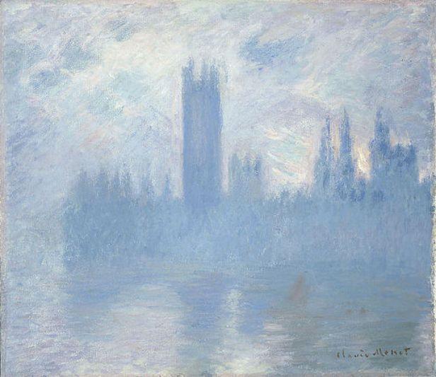 Claude Monet - Houses of Parliament, London