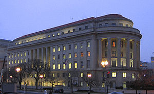 Washington, D.C. headquarters of the Federal T...