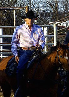 George Strait at the San Antonio Stock Show and Rodeo in 2005