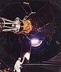 Тестування телескопа у великому сонячному симуляторі (ESTEC)