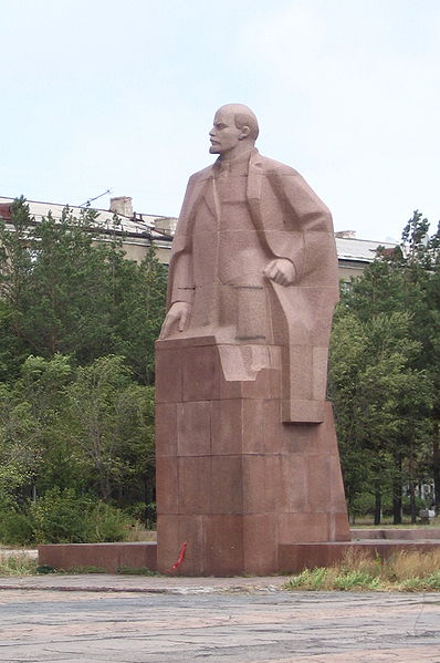 Statues of Lenin in Karaganda, kazakhstan travel guide, places to visit in kazakhstan, Kazakhstan travel itinerary