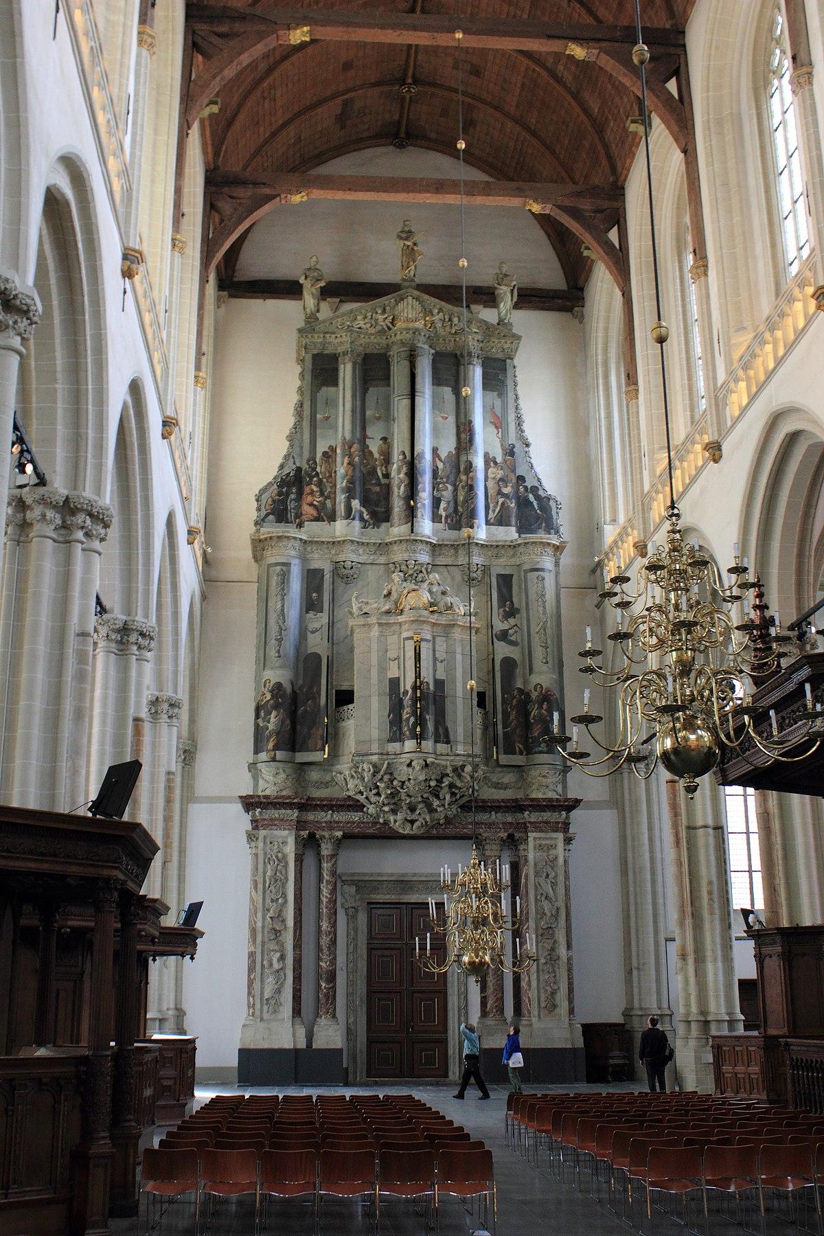 Orgels Van De Nieuwe Kerk Amsterdam Wikipedia
