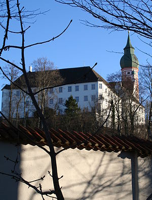 English: Kloster Andechs in Bavaria