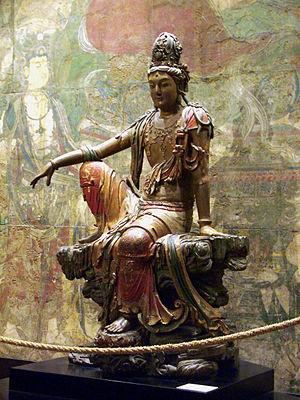 Bodhisattva Avalokitesvara (Guanshiyin), Shanx...