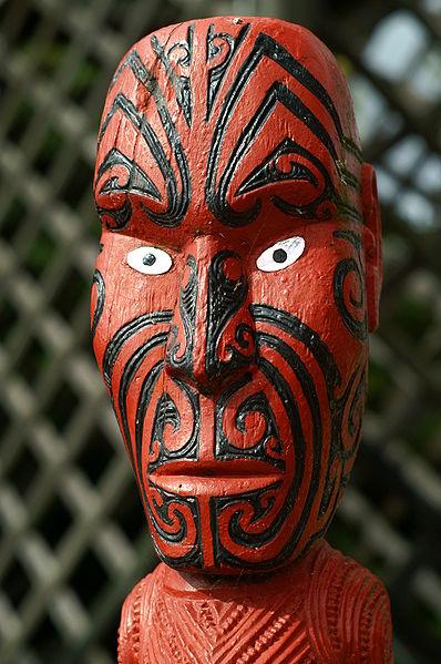 File:Maori Statue in Rotorua New Zealand.JPG