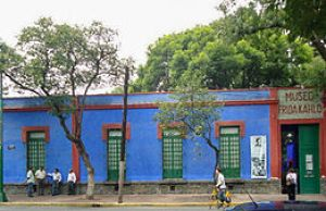 English: Museo Frida Kahlo in the Casa Azul