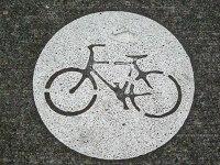 Portland Bike Stencil (wikimedia)
