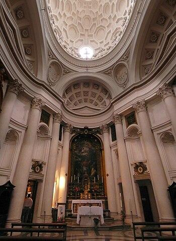 San Carlo alle Quattro Fontane (Rome), Borromi...