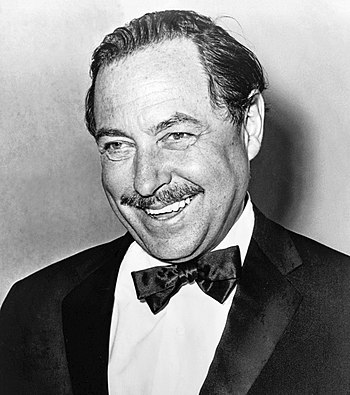 English: Tennessee Williams, American playwrig...
