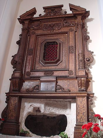 Chapel of the burial place of Saint Lucy at Sy...