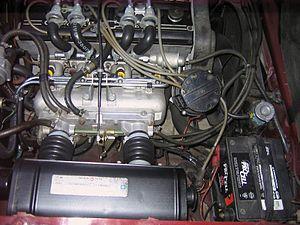 English: 1976 Chevrolet Cosworth Vega engine